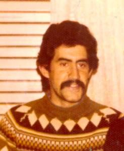"""""""El Nona"""" Carlos Alberto D´Ambra. Foto gentileza de Sara Waitman."""