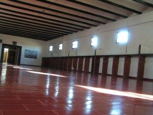 """""""La cuadra"""" del campo de concentración de La Perla. Foto durante el reconocimiento del Tribunal Oral Federal 1 en mayo de 2013."""