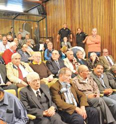 Hay 44 acusados en el proceso por los crímenes cometidos en La Perla. Foto, Telam (Irma Montiel).