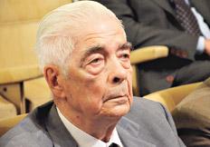 Luciano Benjamín Menéndez se fastidió durante varios pasajes del testimonio de Solanille. Imagen: Télam