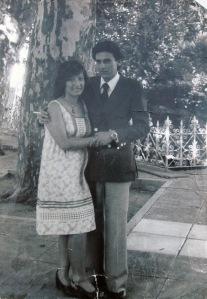 Silvina Parodi y Daniel Orozco el día de su casamiento. Sonia Torres, la mamá de Silvina todavía busca a su nieto nacido en cautiverio.