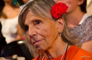 Sonia en la marcha del 24 de marzo. Córdoba, 2013.