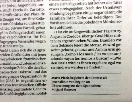 Der Freitag, Berlín Alemania, viernes 2 de septiembre de 2016. Página 10. Política.